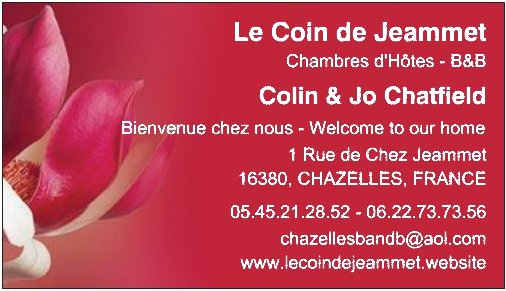 Cartes de Visite - Visiting Card